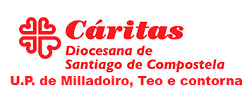 Cáritas de Milladoiro, Teo e contorna Logo