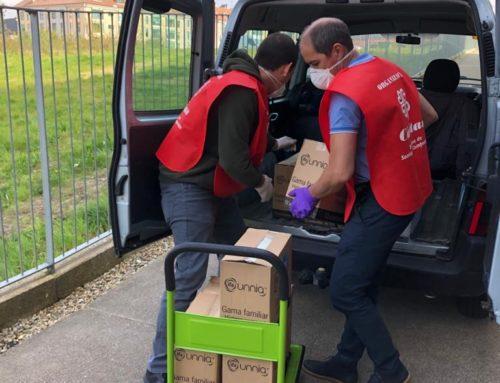 El voluntariado de Cáritas trabajando por la comunidad
